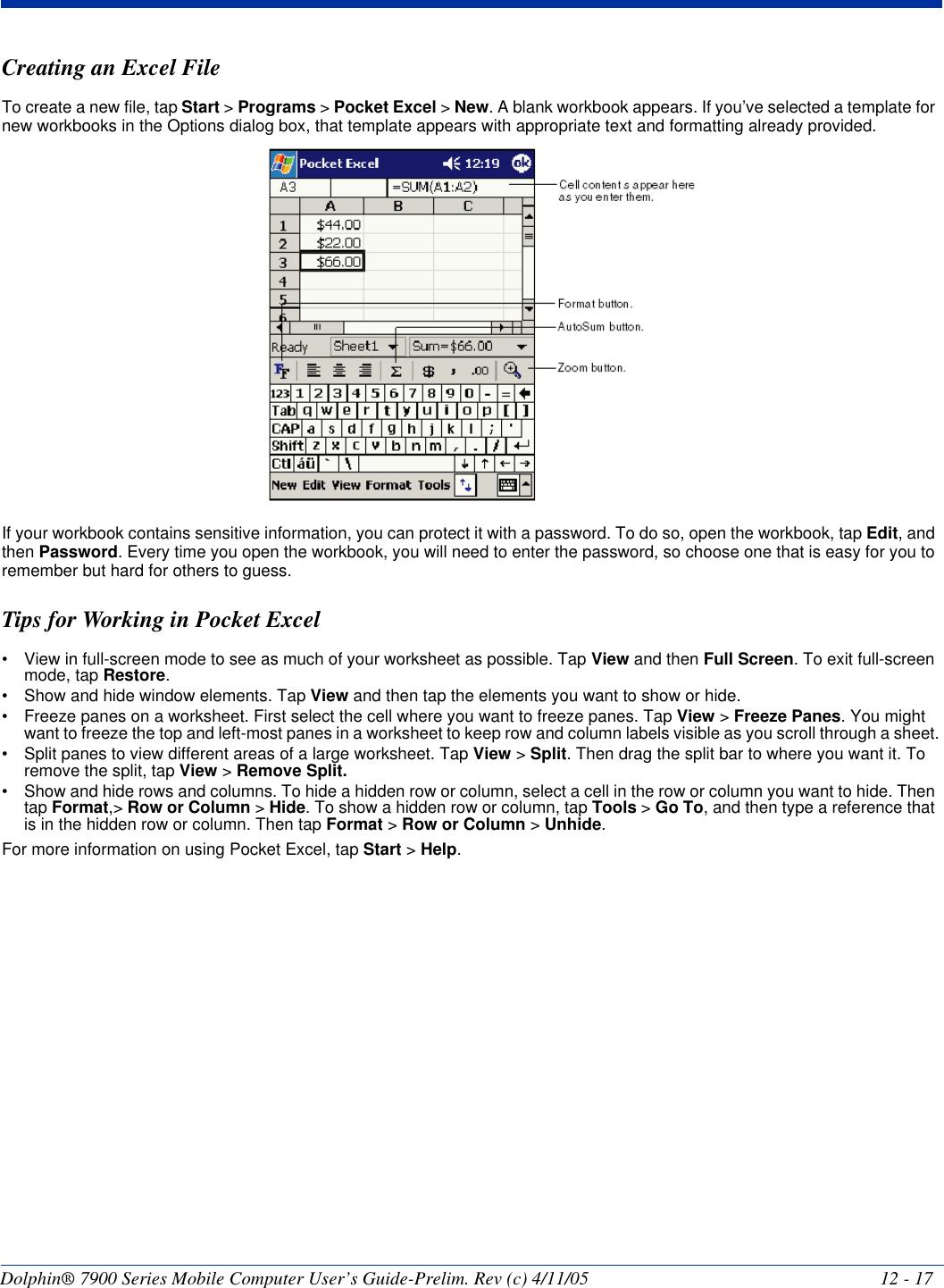 Honeywell Lu0 Dolphin With Gsm And 802 11b Radios