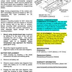 Honeywell Pressure Transmitter Wiring Diagram Soil Phosphorus Cycle 8dl5811 Security User Manual 800 03928 5811 A1 2 09 Rev A Ademco One Zone Door Window