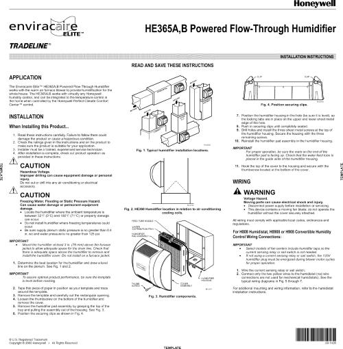 small resolution of humidistat installation