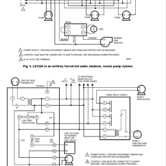 Honeywell Aquastat L4006 Wiring Diagram A 3 Way Switch With Lights L8124a Installation Instructions Manual