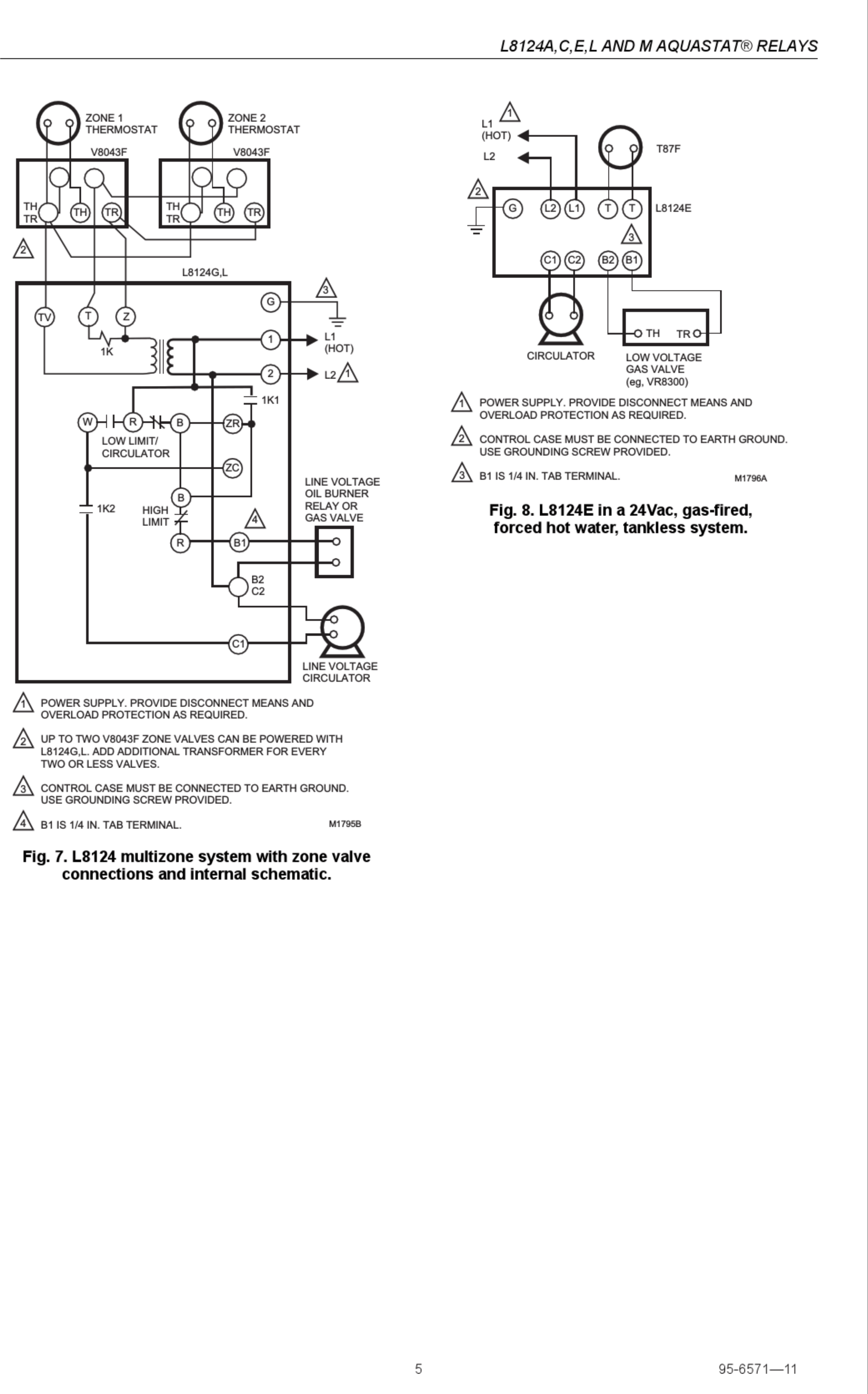 Honeywell Ra89a Wiring Schematic HVAC Indoor Fan Relay