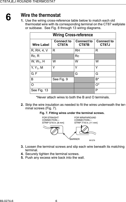 medium resolution of  ct n honeywell round thermostat wiring diagram on honeywell chronotherm 3 wiring diagram honeywell digital