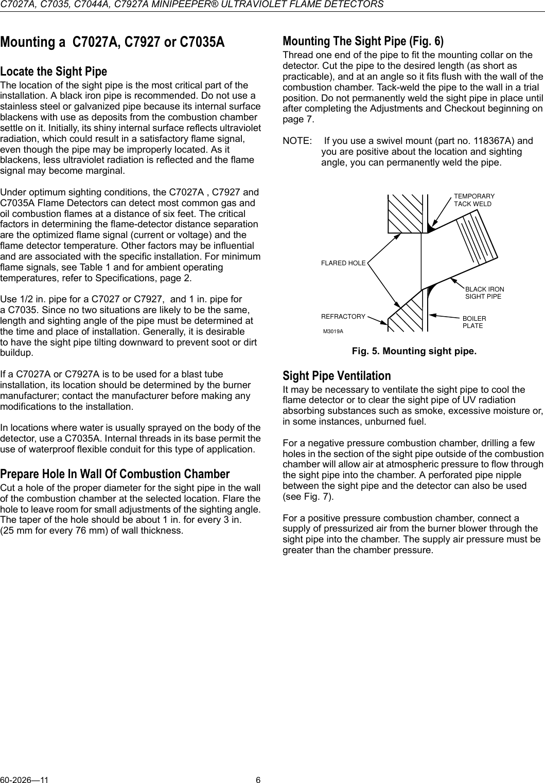 Honeywell Carbon Monoxide Alarm C7035 Users Manual C7027A