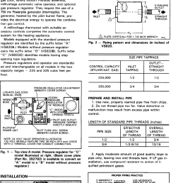 honeywell gas heater vs820 users manual 95c 10024b powerpile combination controls [ 1005 x 1481 Pixel ]