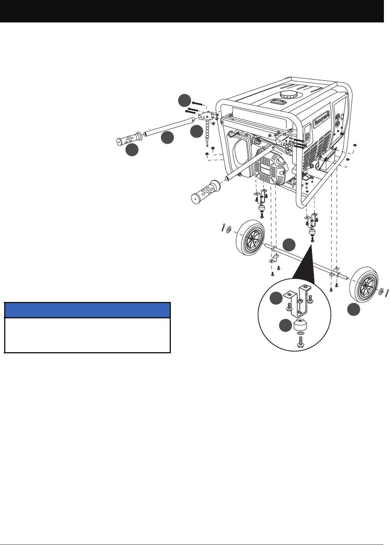 Honeywell Portable Generator Hw3000 Users Manual