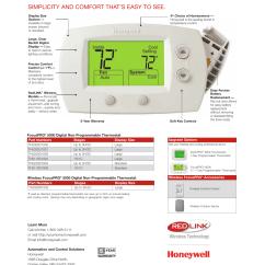 Honeywell Thermostat Wiring Diagram Rth3100c Plot Of Twilight Focuspro 5000