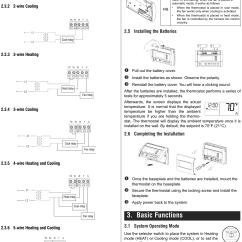 Honeywell Thermostat Rth2300b1038 Wiring Diagram 97 Honda Civic Radio Rth230b