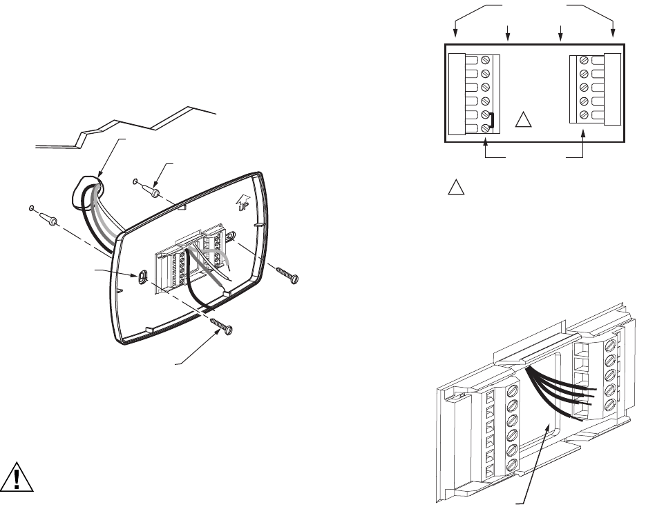 Honeywell Thermostat Tb7220 Users Manual 63 2636—03