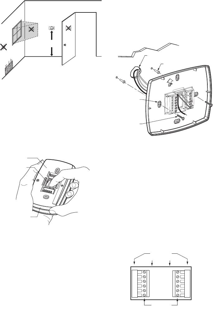 Honeywell Thermostat Tb8220U Users Manual 62 0370 03