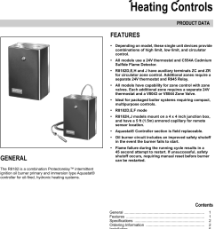 honeywell r8182d users manual 68 0105 r8182d e f h j combination protectorelay and hydronic heating controls [ 1074 x 1555 Pixel ]