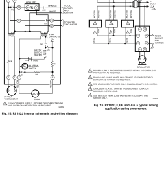 honeywell r8182d users manual 68 0105 r8182d e f h j combination protectorelay and hydronic heating controls [ 1061 x 1523 Pixel ]