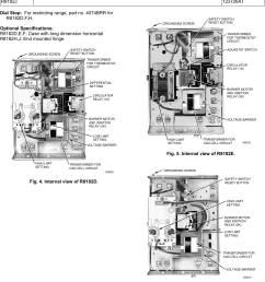honeywell r8182d users manual 68 0105 r8182d e f h j combination protectorelay and hydronic heating controls [ 1062 x 1523 Pixel ]