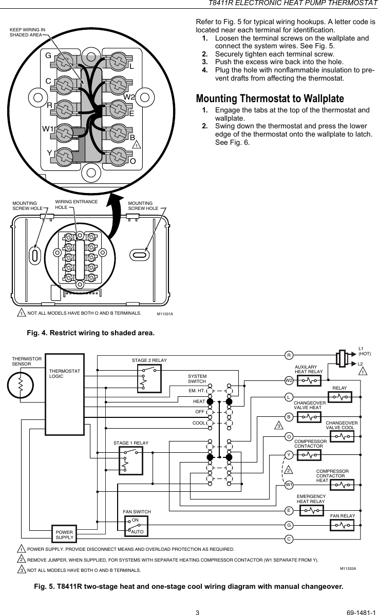 medium resolution of t8411r wiring diagram wiring diagram info for thermostat t8411r wiring diagram data diagram schematichoneywell t8411r users