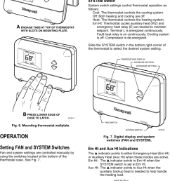 page 4 of 6 honeywell honeywell t8411r users manual 69  [ 735 x 1198 Pixel ]