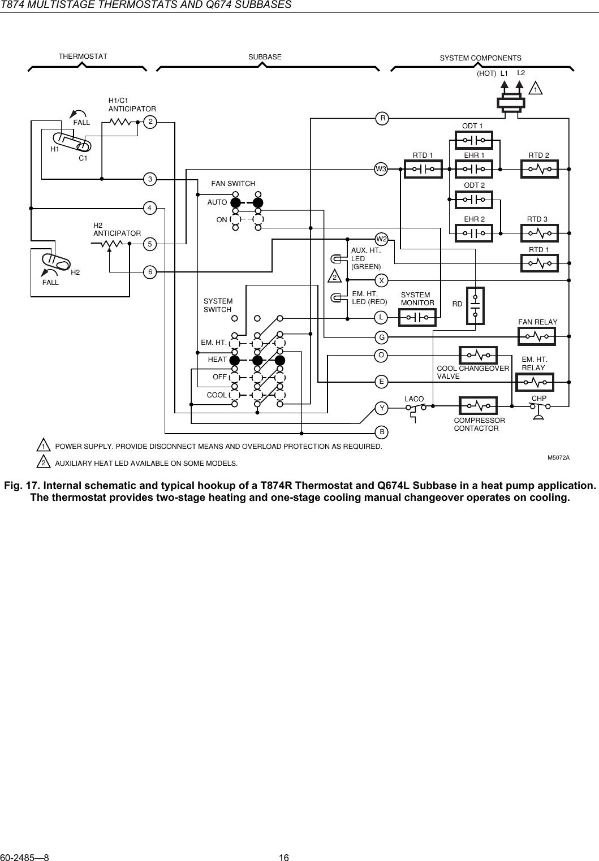 Singer Heat Pump Wiring Diagram