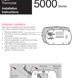 honeywell th5110 installation instructions 69 2698efs 03 focuspro th5000 series [ 769 x 1116 Pixel ]