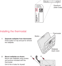 page 2 of 12 honeywell honeywell th8321wf1001 installation guide 33  [ 747 x 1213 Pixel ]