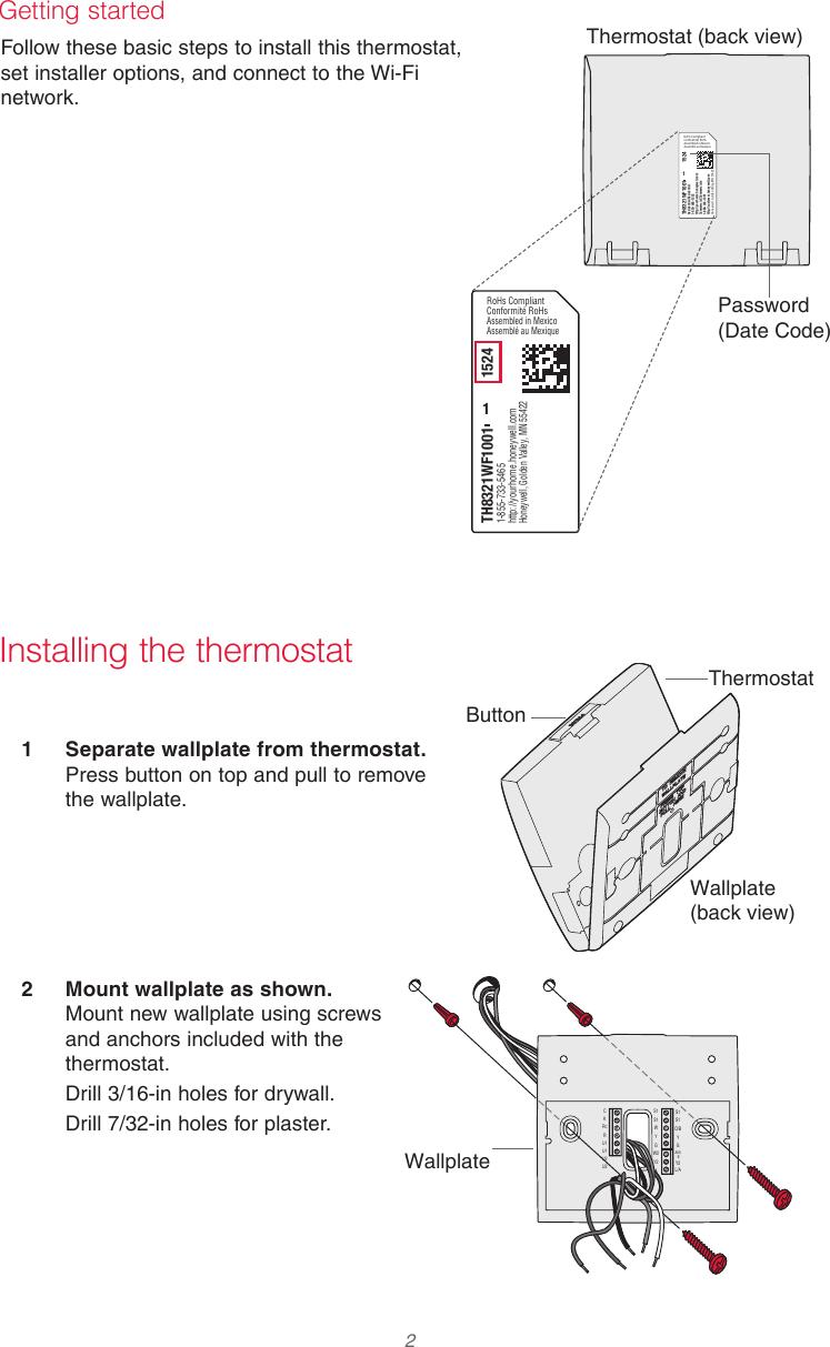 medium resolution of page 2 of 12 honeywell honeywell th8321wf1001 installation guide 33
