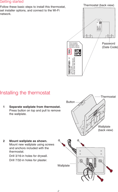 small resolution of page 2 of 12 honeywell honeywell th8321wf1001 installation guide 33