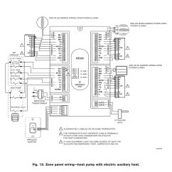 Heat Pump Thermostat Wiring Diagram Honeywell Shovelhead Starter Red And White Wire Rodgers