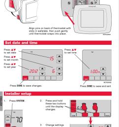 page 6 of 12 honeywell honeywell visionpro th8000 series installation  [ 2262 x 3480 Pixel ]