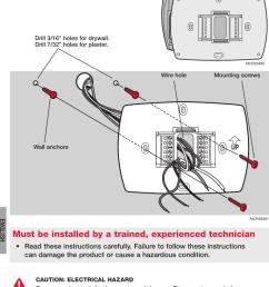 honeywell visionpro th8000 series installation manual 69 2693 01page 2 of 12 honeywell honeywell visionpro th8000 [ 764 x 1201 Pixel ]