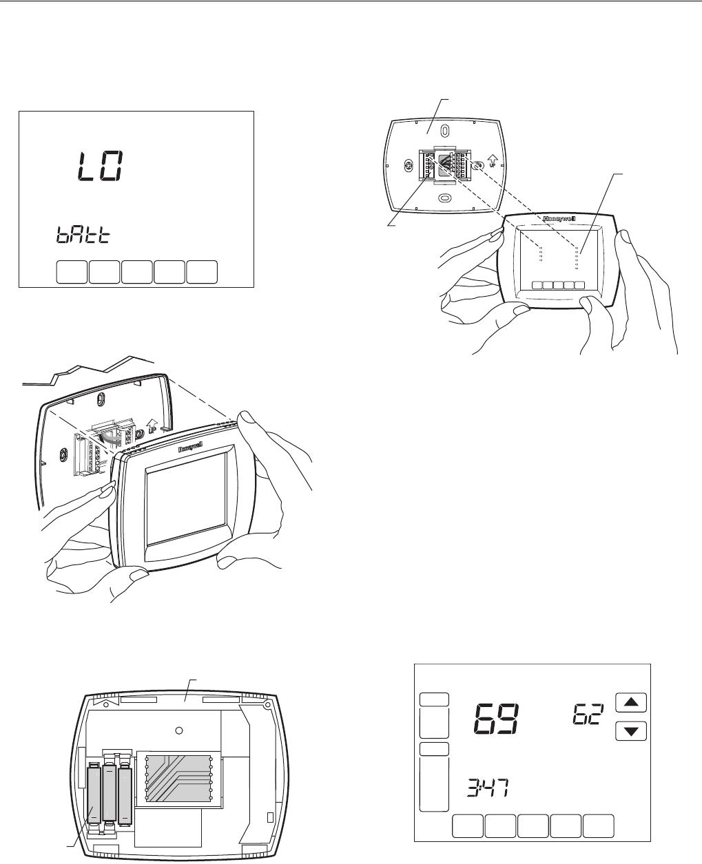 Honeywell Visionpro Th8110 Users Manual 68 0280—01 8000