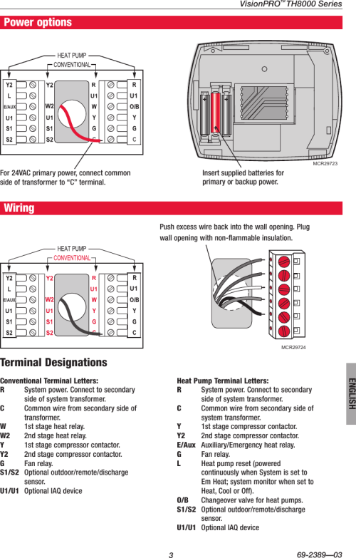 small resolution of page 3 of 12 honeywell honeywell visionpro touch screen programmable