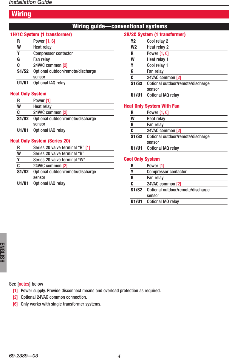 hight resolution of page 4 of 12 honeywell honeywell visionpro touch screen programmable