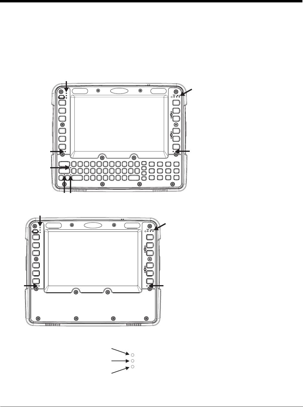Honeywell Thor VM1 User's Guide (Windows CE) User Manual