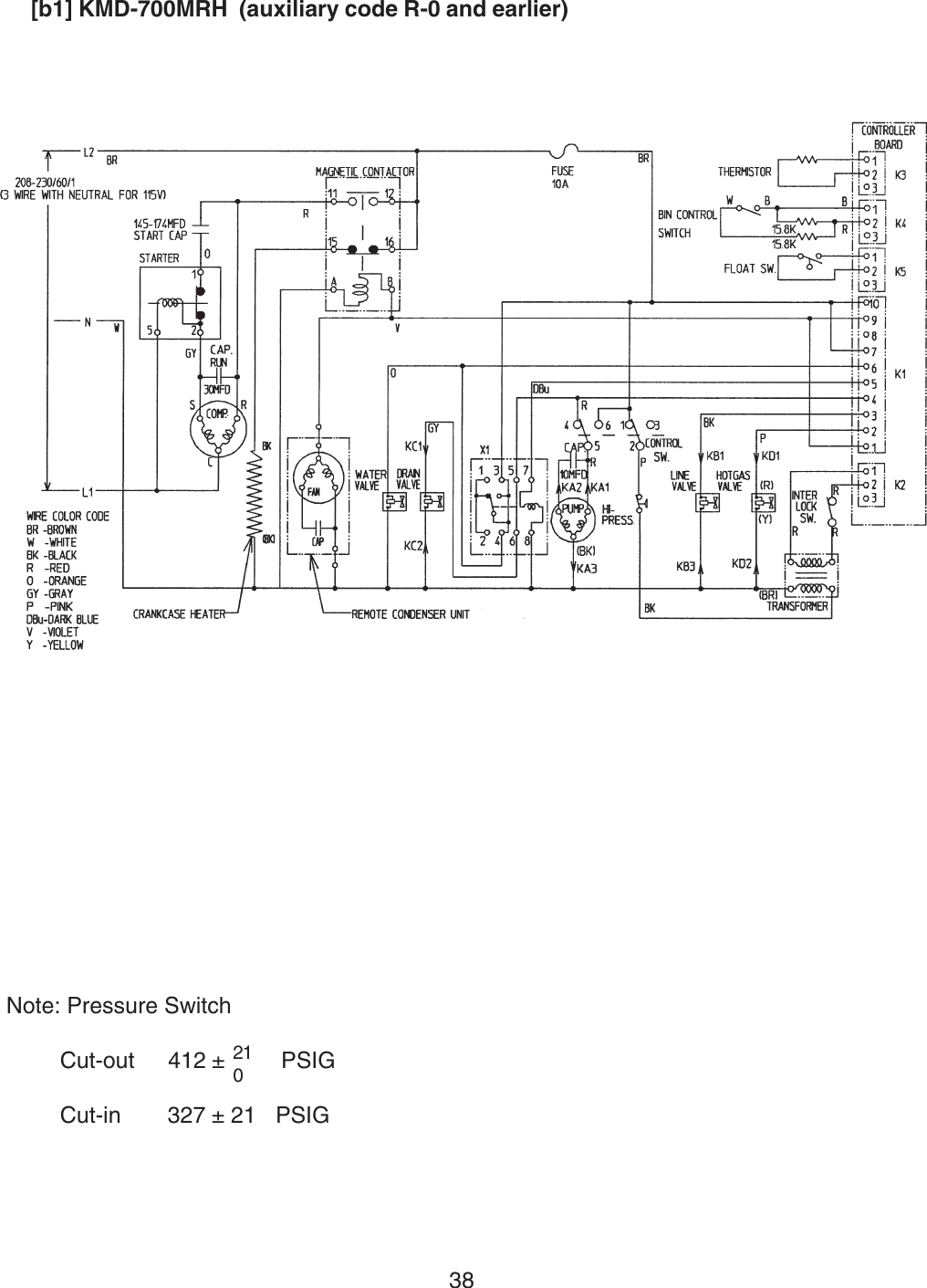 hight resolution of hoshizaki contactor wiring diagram