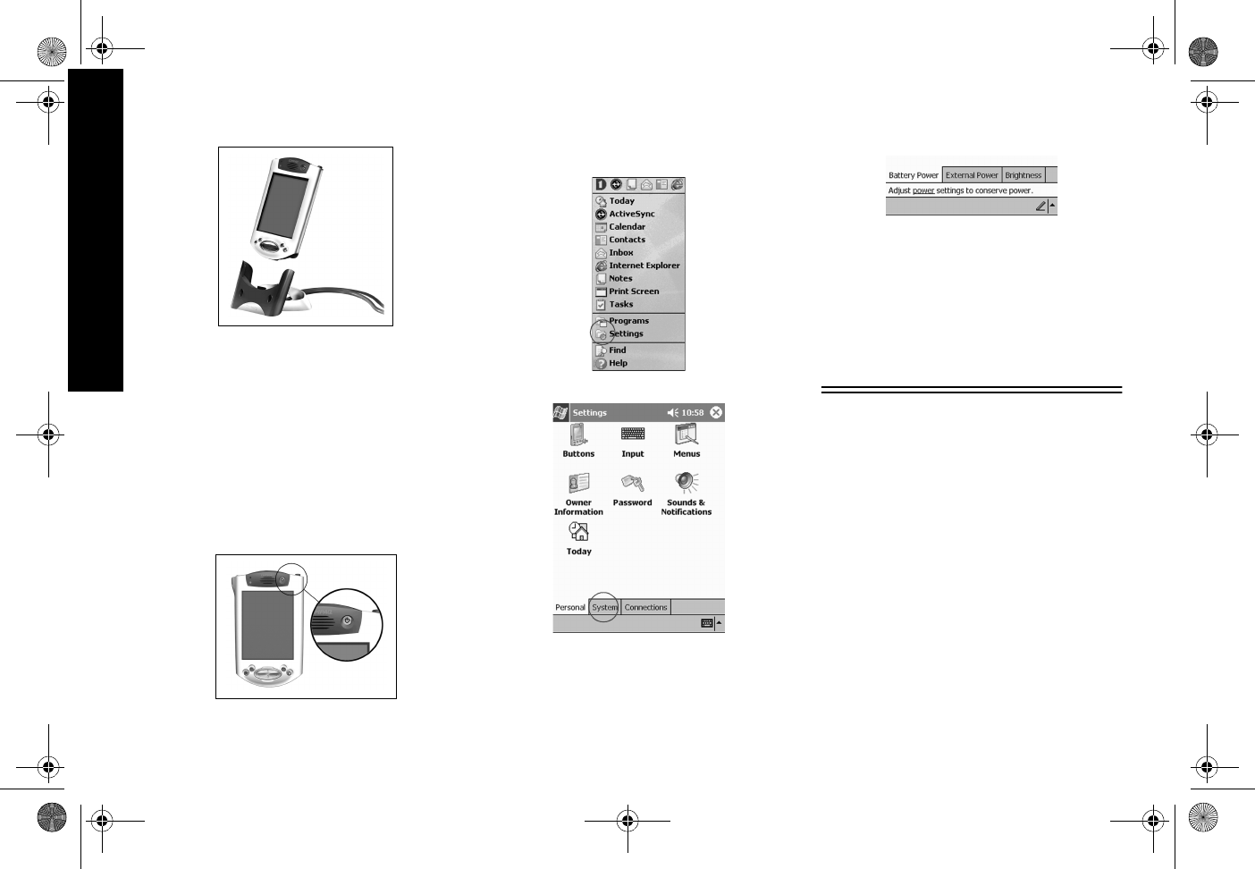 Hp Hewlett Packard Ipaq H3900 Series Getting Started Guide
