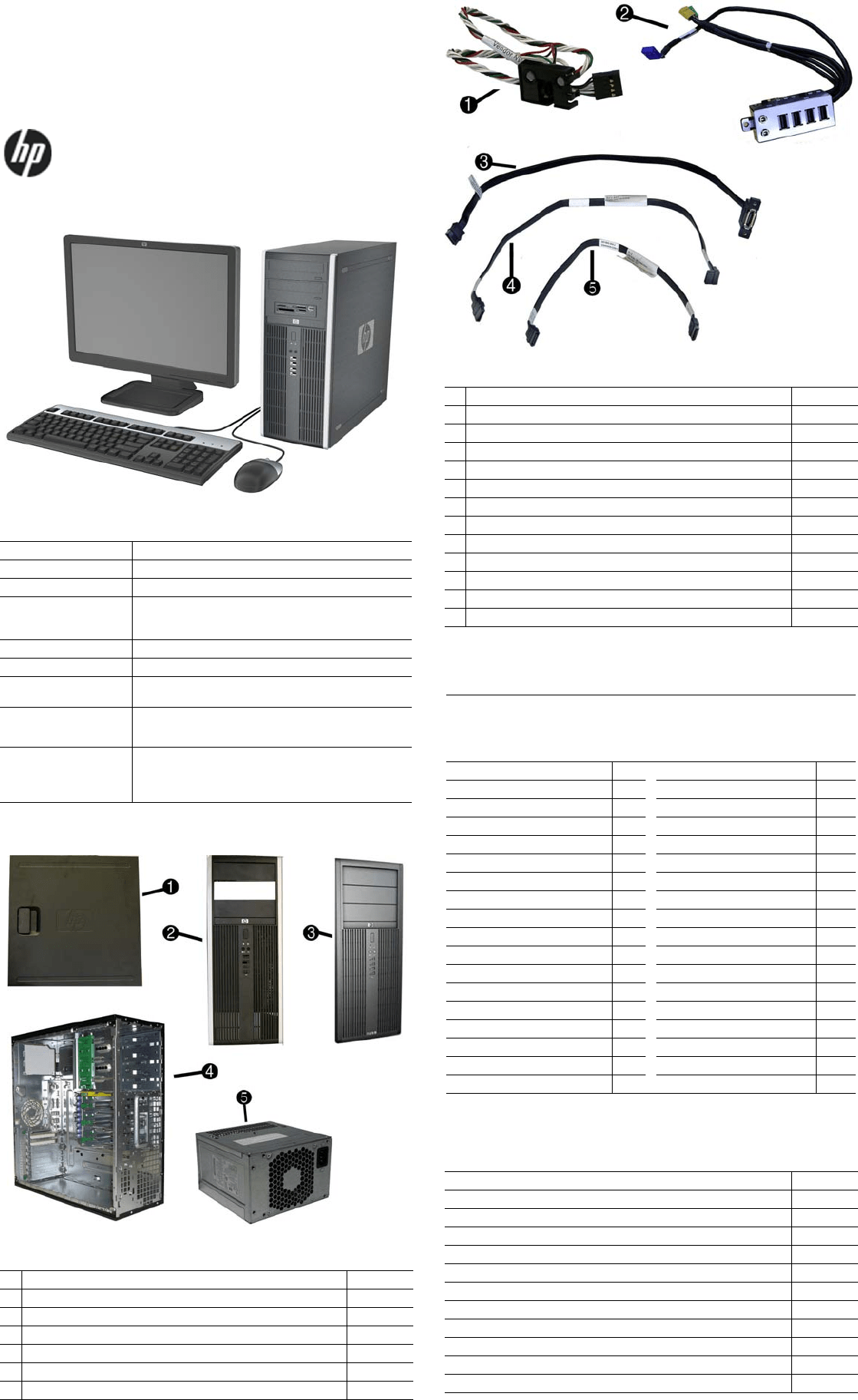 Hp Compaq 8100 Elite Convertible Minitower Pc Reference