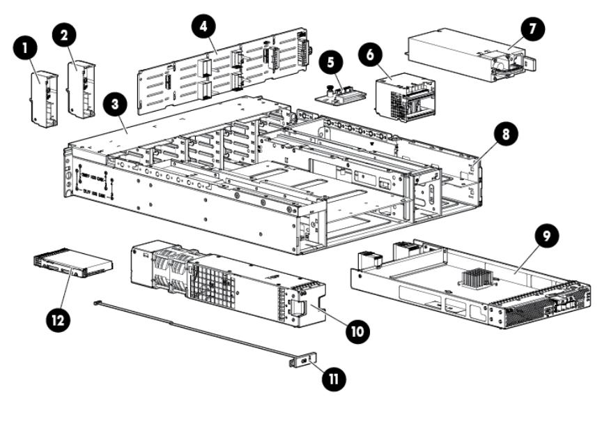 Hp D3600 Enclosure Users Manual D3600/D3700 Disk User Guide