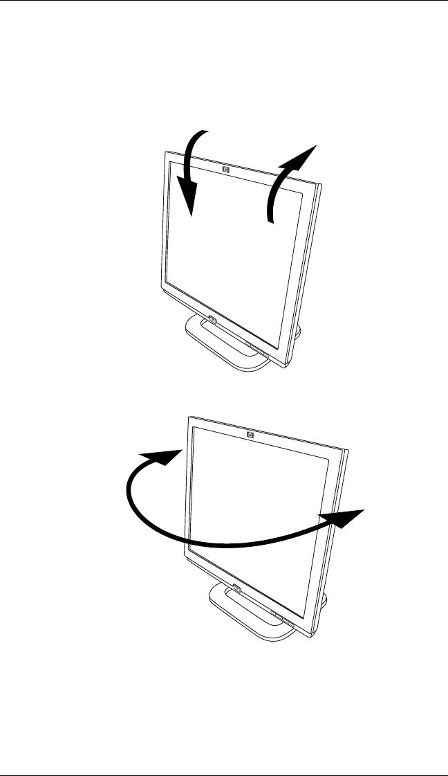 Hp Pavilion F1903 19 Inch Flat Panel Monitor Users Manual