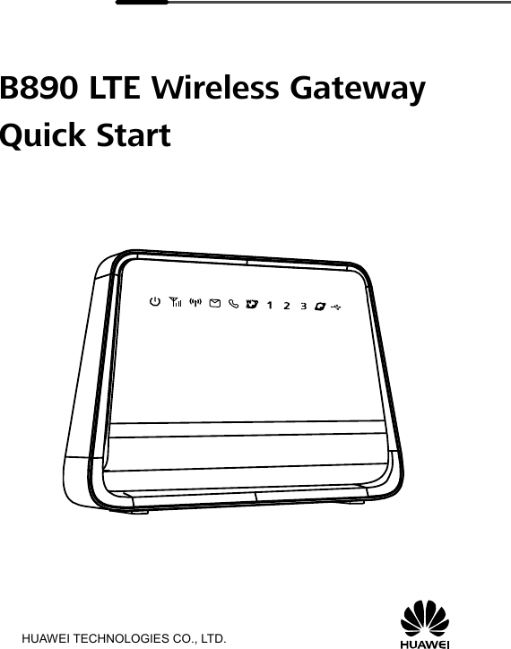 Huawei Technologies B890 B890-66 is an LTE Wireless