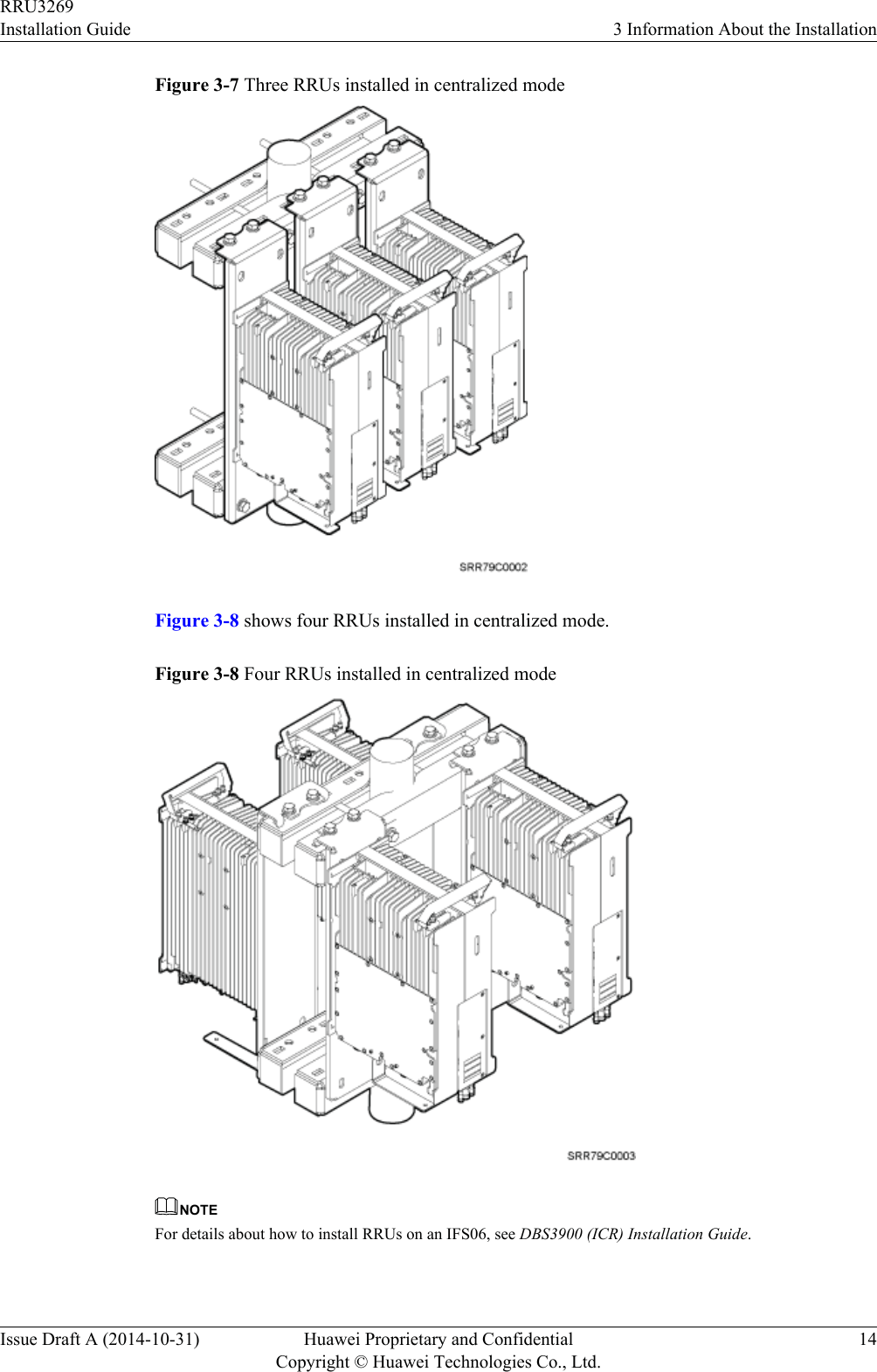 Huawei Technologies RRU3269 Remote Radio Unit User Manual