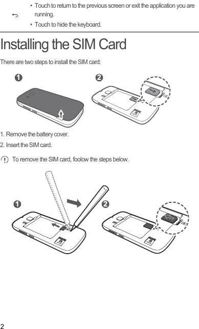 Huawei Technologies Y336-A1 Smart Phone User Manual