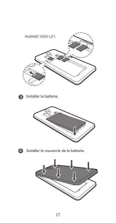 Huawei Technologies Y635-L01 Smart Phone User Manual