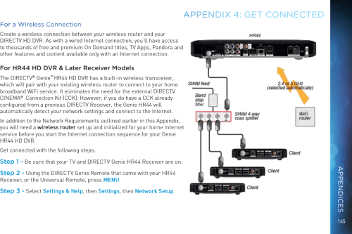 small resolution of wiring diagram for directv swm and dvr
