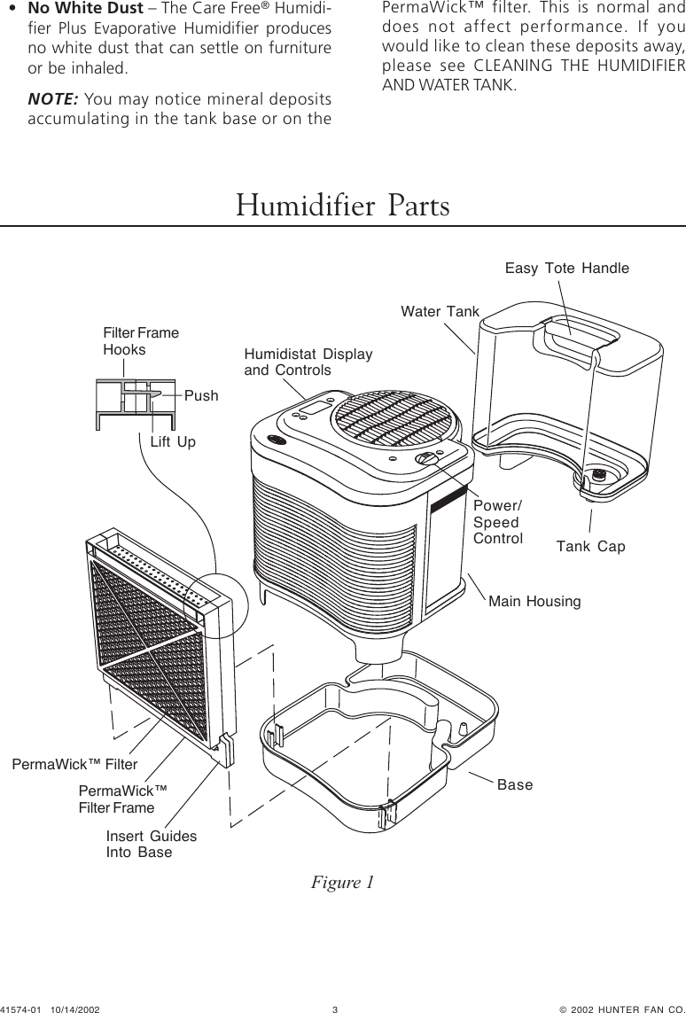 Hunter Fan 34357 Owner S Manual 41574 01.pmd