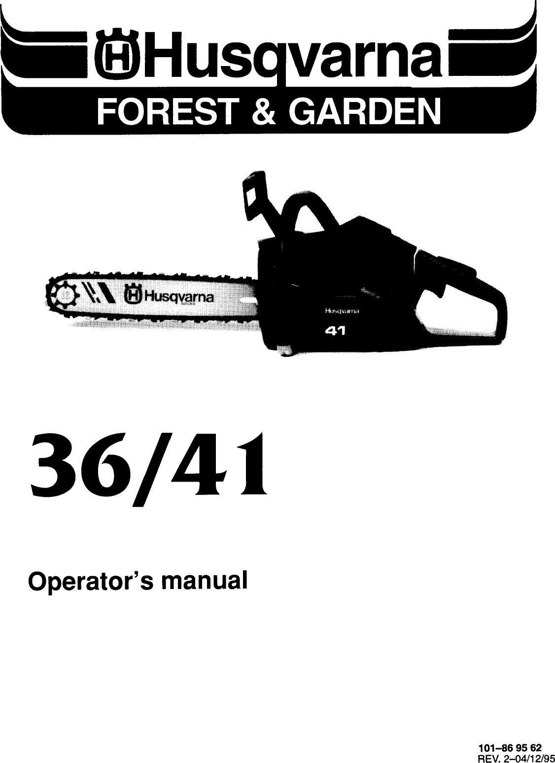 Husqvarna 36 Operators Manual ManualsLib Makes It Easy To