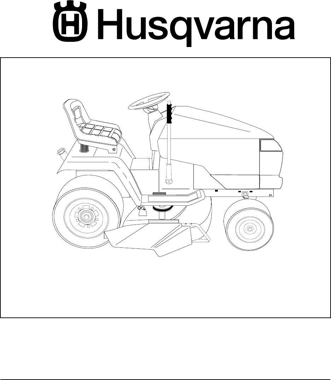 Husqvarna Gth2248Xp Users Manual Operator's Manual, GTH