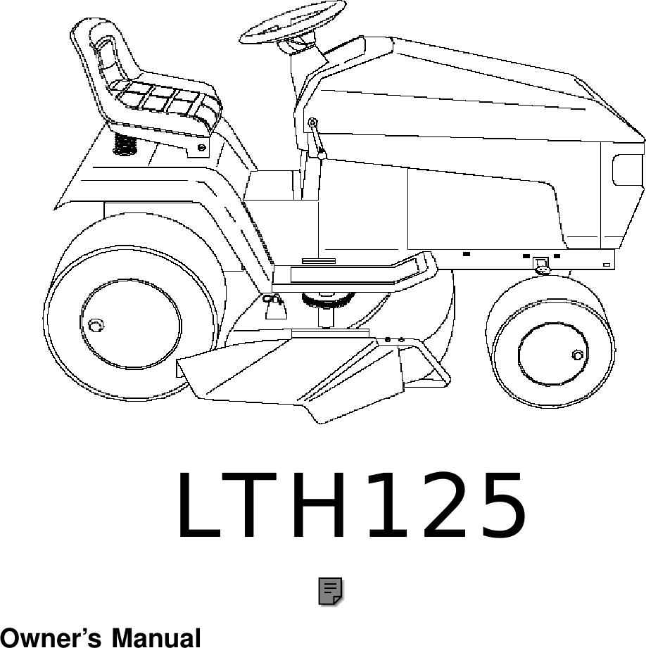 Husqvarna Lth125 Users Manual OM, LTH 125 (HC125H42C
