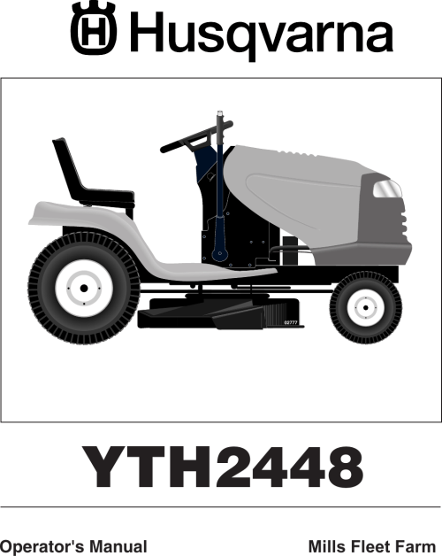 small resolution of husqvarna yth2448 users manual om yth 2448 mills fleet farm 960150001 2006 02 ride mower
