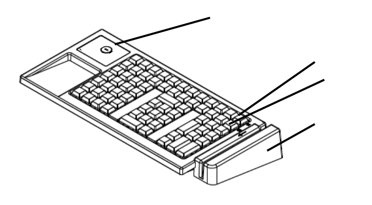 Ibm 4685 K03 Users Manual POS Keyboard