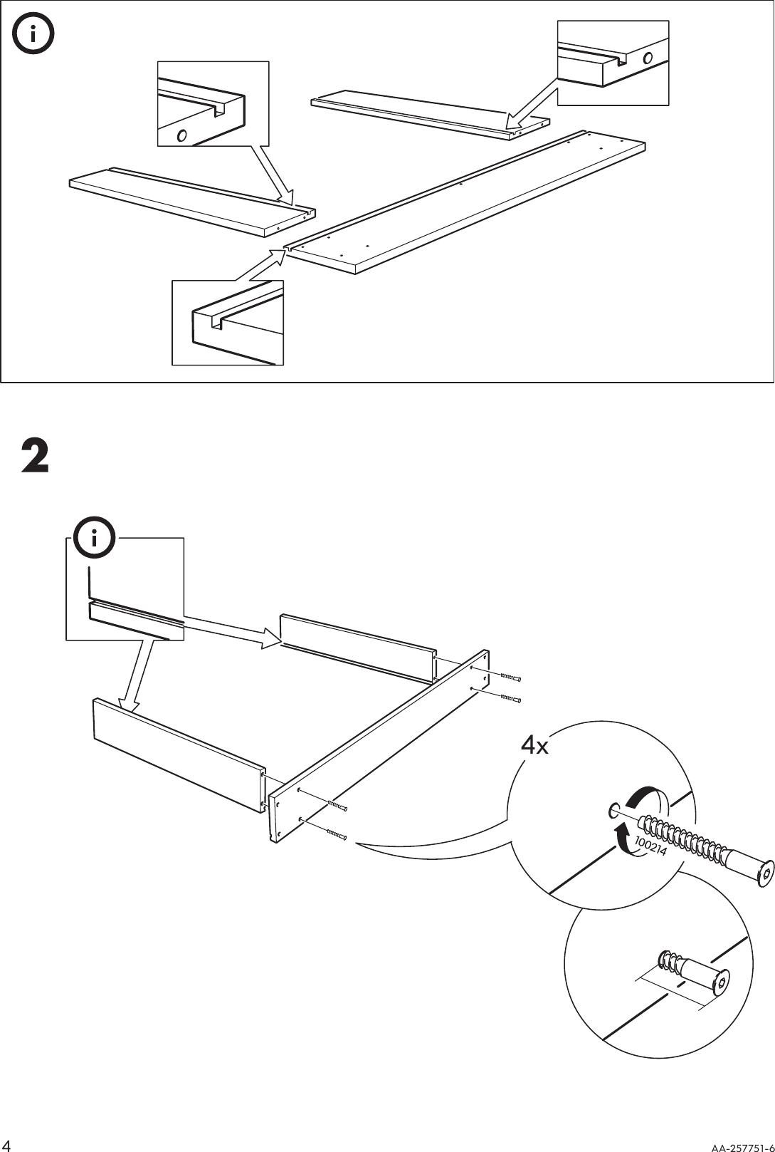 Ikea Hagalund Sofa Bed Frame Assembly Instruction