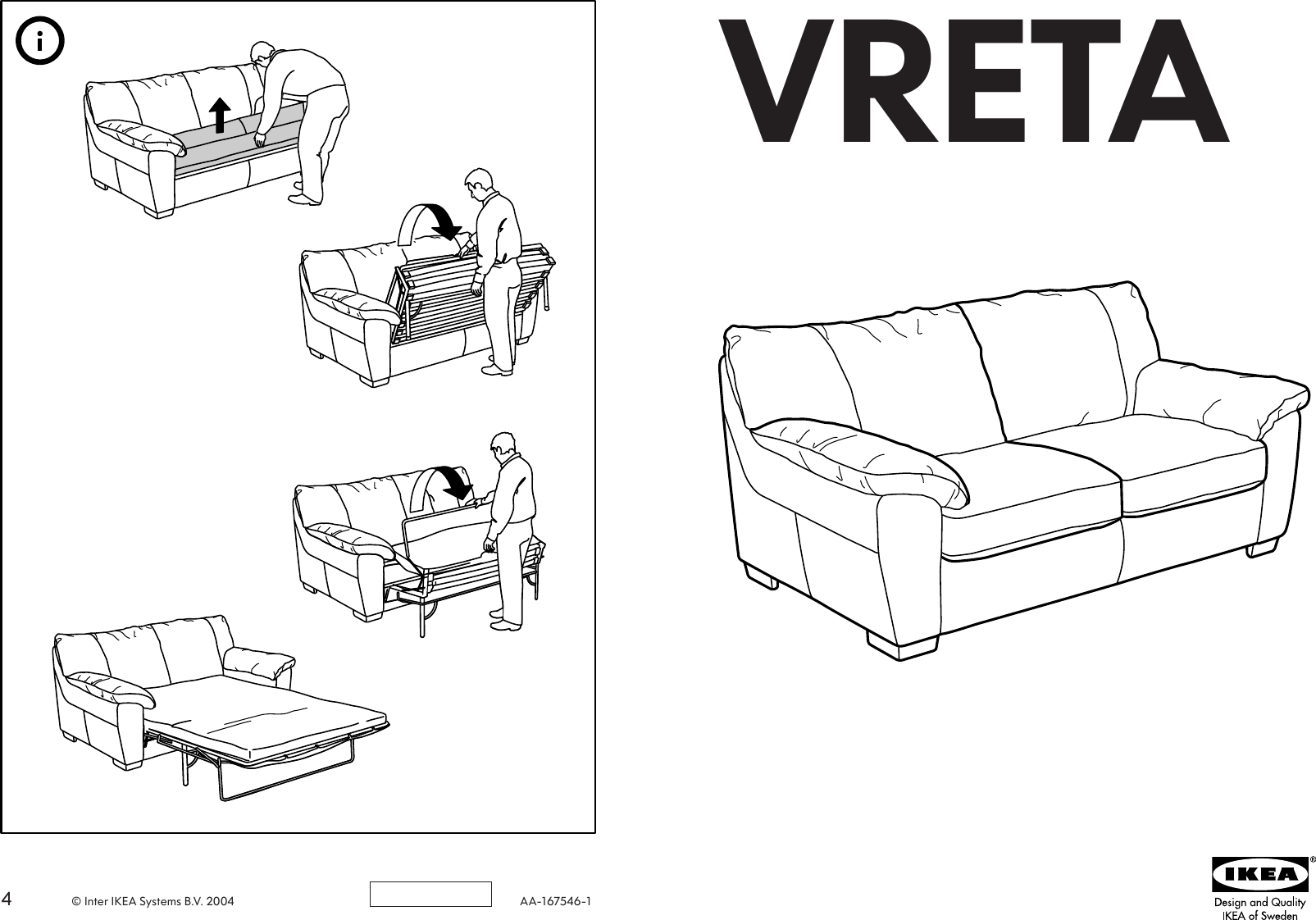 ikea friheten sofa bed embly instructions burgundy living room vreta red leather sanblasferry thesofa
