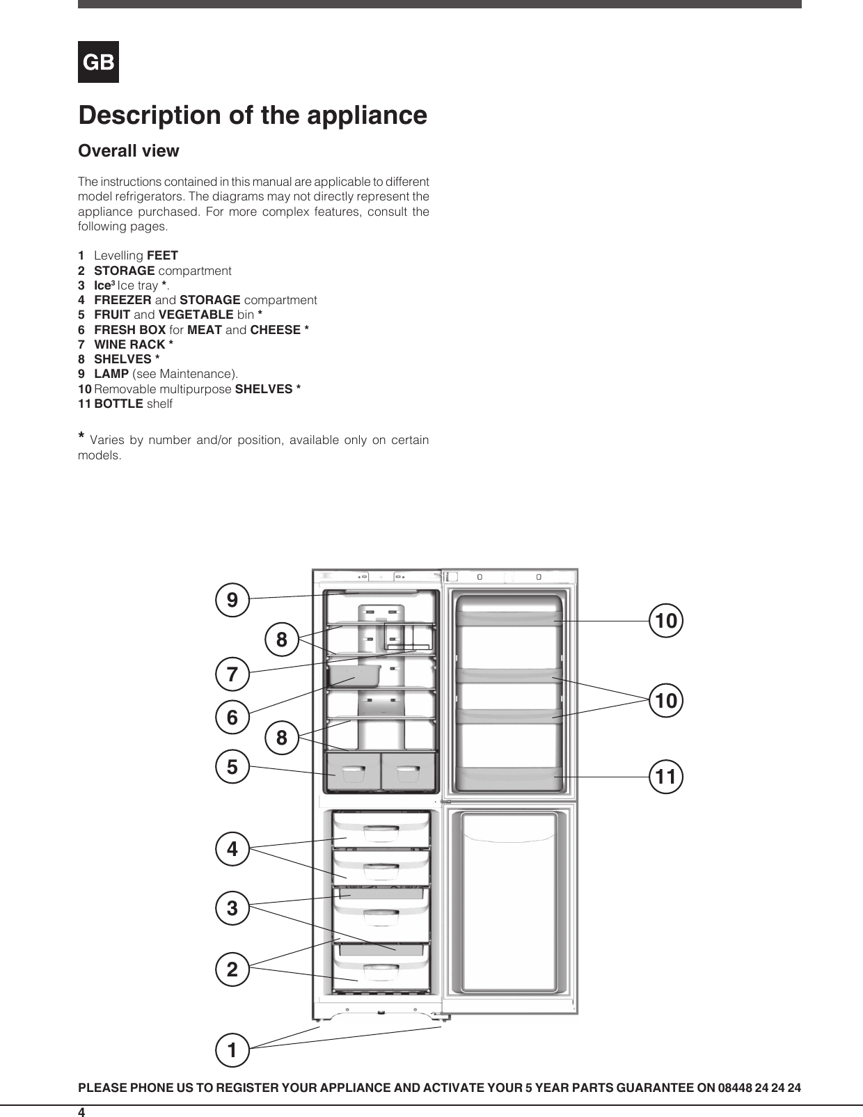 hight resolution of page 4 of 12 indesit indesit dbiaa344f uk operating instructions