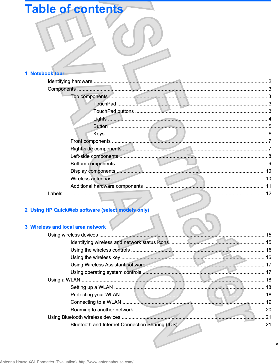Intel 112BNHU Intel Centrino Wireless-N 1000 User Manual